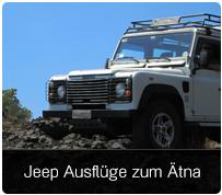 Jeep Ausflüge zum Ätna
