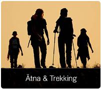Trekking auf dem Ätna