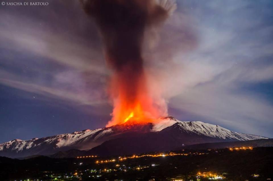 Etna Aktuell Ausbruch