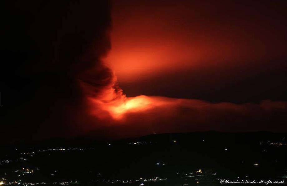 Etna Ausbruch 2014