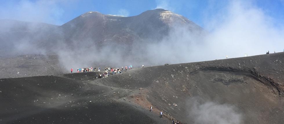Emotion Etna auf 3.000 Meter