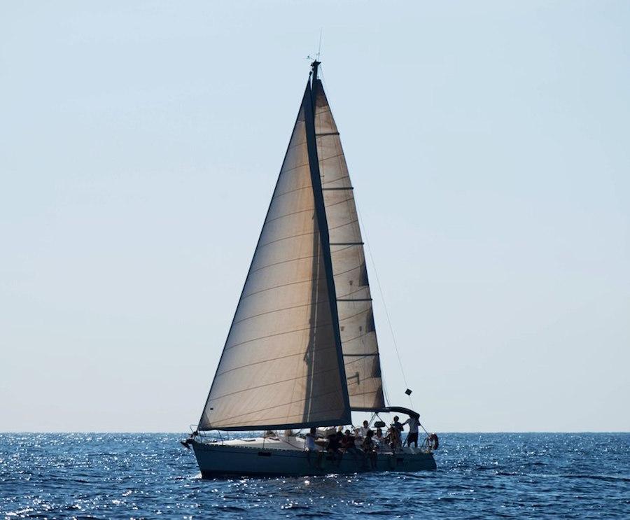 Segel Tour Sizilien