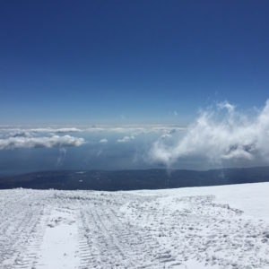 Schnee am Etna
