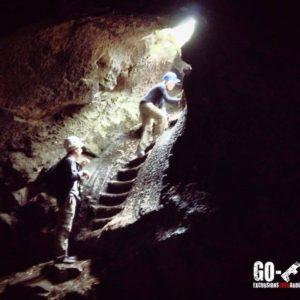 Ätna Lava Grotte