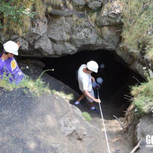 Etna Grotte