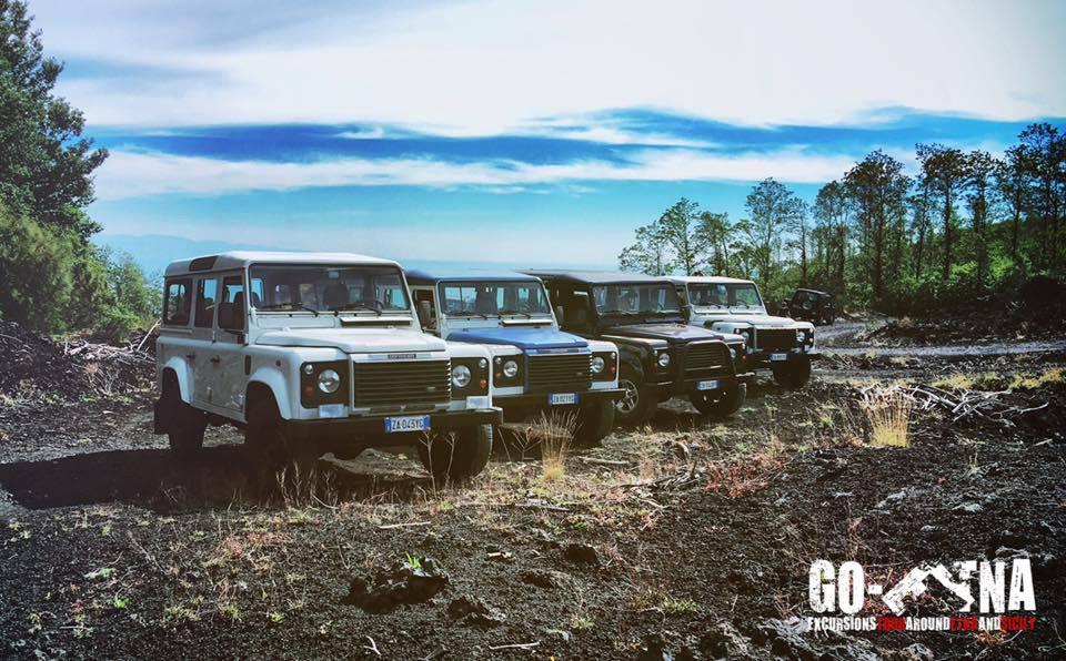 Geländefahrzeugen Etna