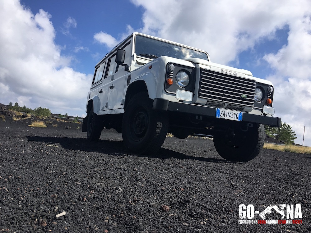 Jeep Ausflug zum Ätna