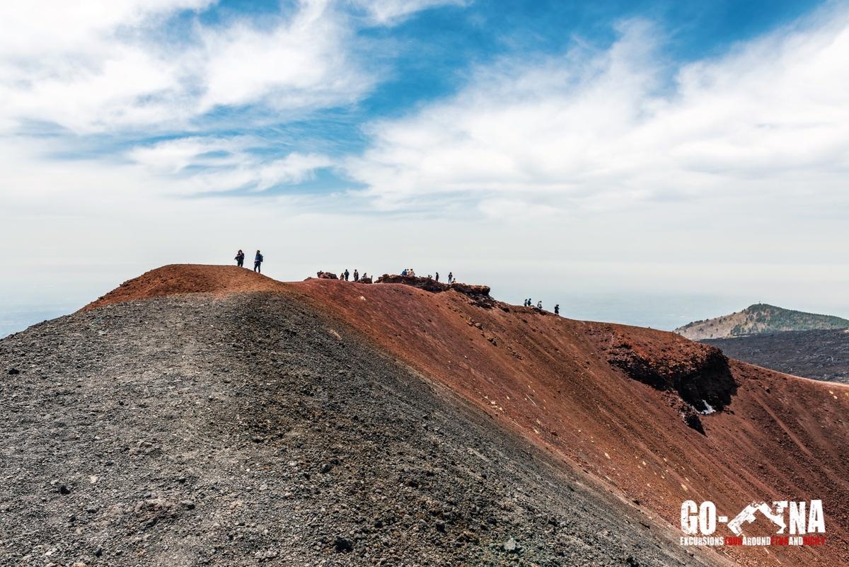 Krater Ätna