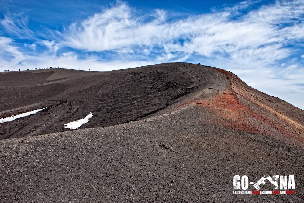 Krater Ätna Trekking