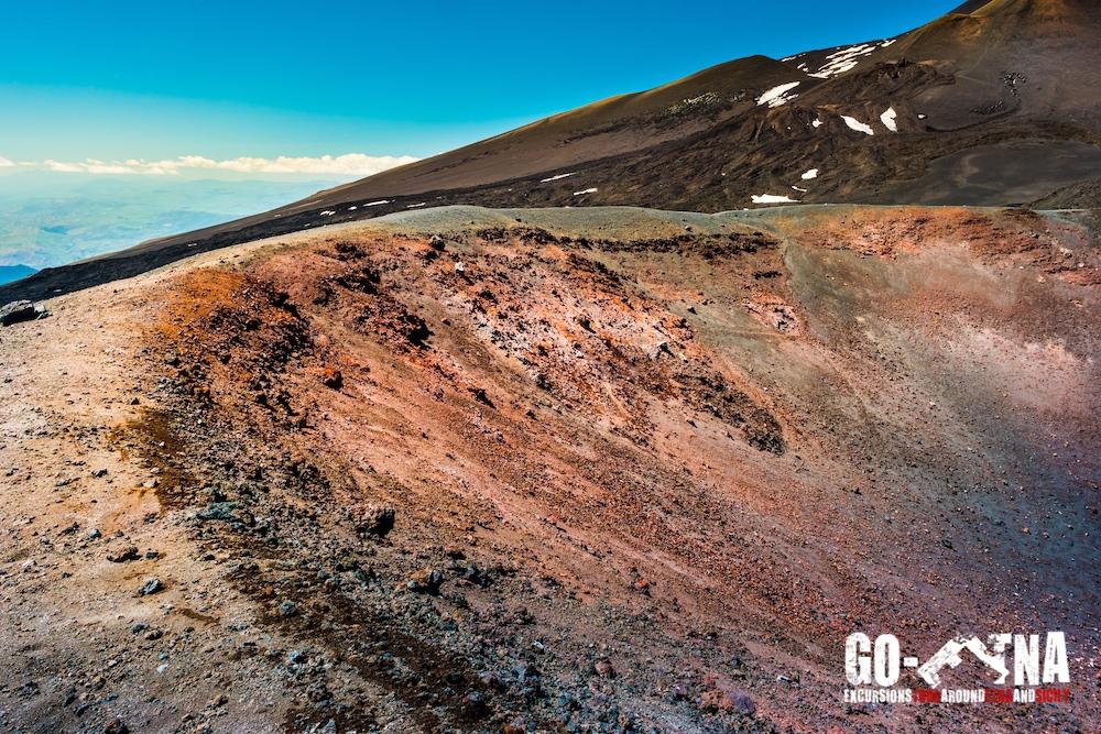 Nebenkrater Etna