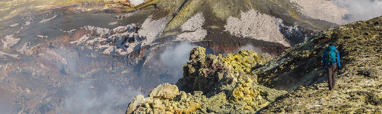 Ätna Gipfelkrater-Trekking 3350m