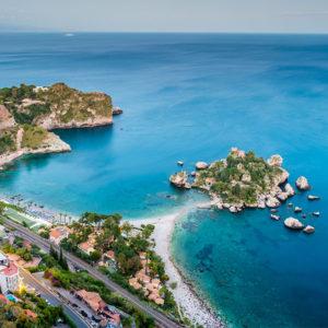 Helikoptertour Ätna & Taormina