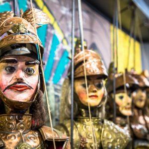Sizilianische Marionettentheater