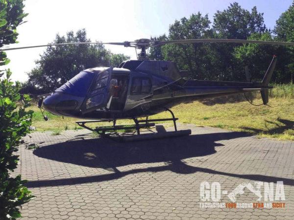 Ätna Helikoptertour
