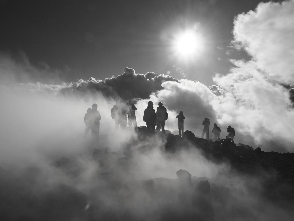 Gipfelkrater-Trekking